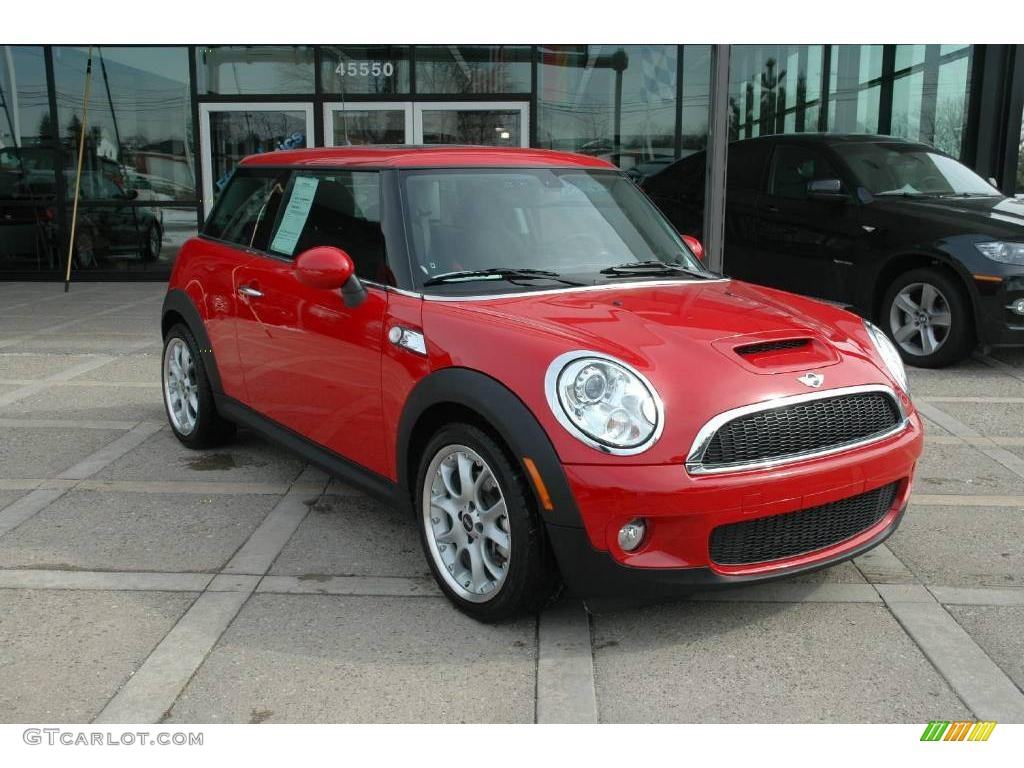 2008 chili red mini cooper s hardtop 4053019 photo 7. Black Bedroom Furniture Sets. Home Design Ideas
