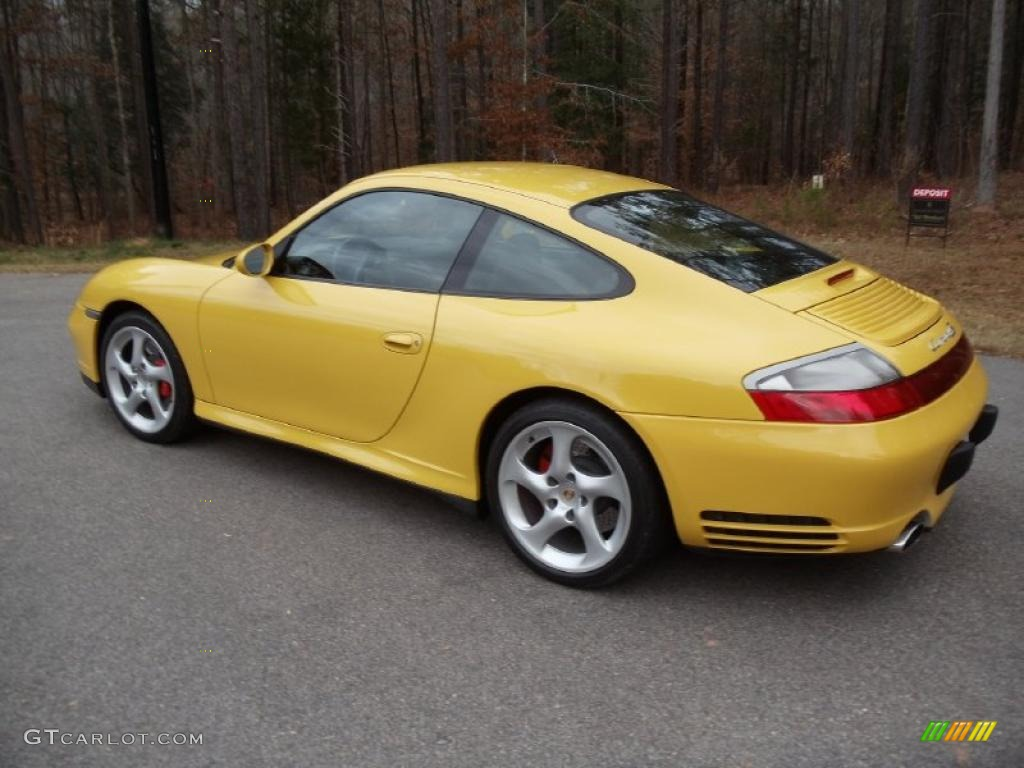 Speed yellow 2004 porsche 911 carrera 4s coupe exterior photo 40817511 gtcarlot com