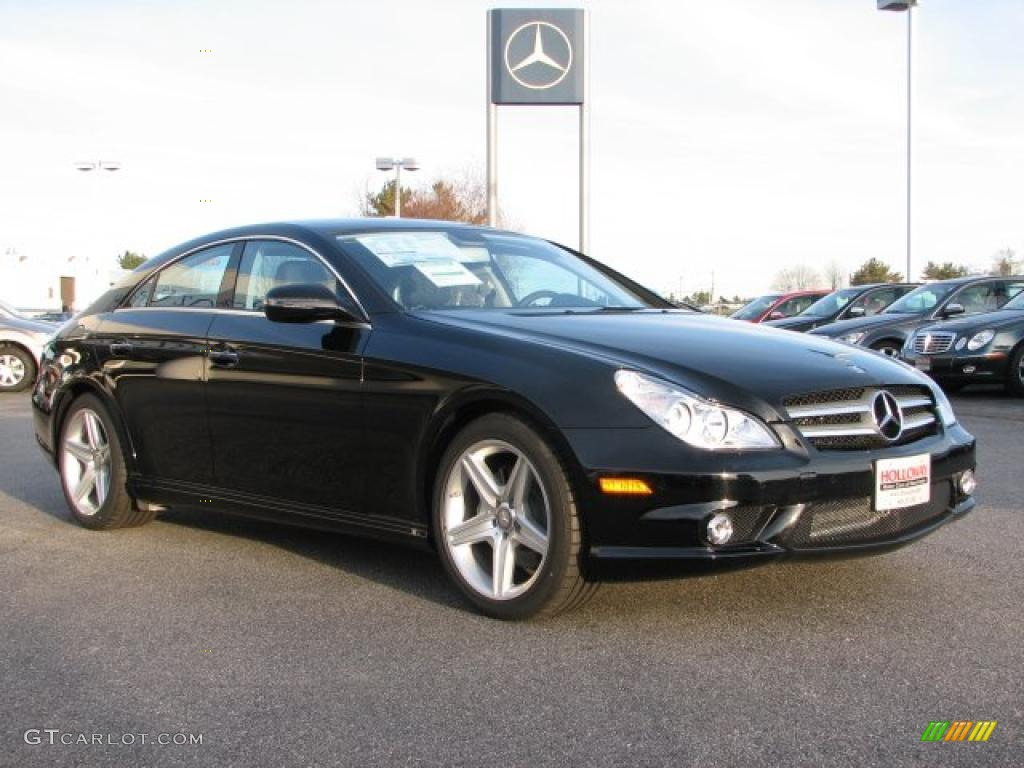 black 2011 mercedes benz cls 550 exterior photo 40819027