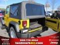 2011 Detonator Yellow Jeep Wrangler Sport S 4x4  photo #8