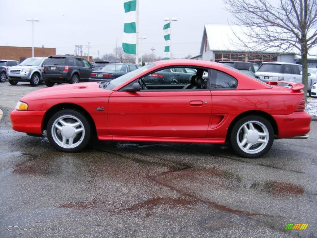 Rio red 1995 ford mustang gt coupe exterior photo 40837105