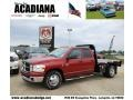 2007 Inferno Red Crystal Pearl Dodge Ram 3500 SLT Quad Cab Chassis  photo #1
