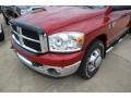 2007 Inferno Red Crystal Pearl Dodge Ram 3500 SLT Quad Cab Chassis  photo #16