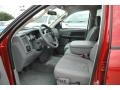 2007 Inferno Red Crystal Pearl Dodge Ram 3500 SLT Quad Cab Chassis  photo #24