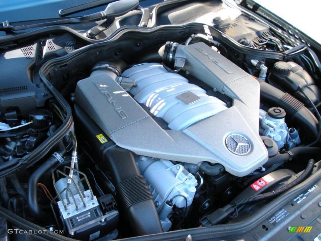 2007 mercedes benz cls 63 amg 6 3 liter amg dohc 32 valve for Mercedes benz v8 engine