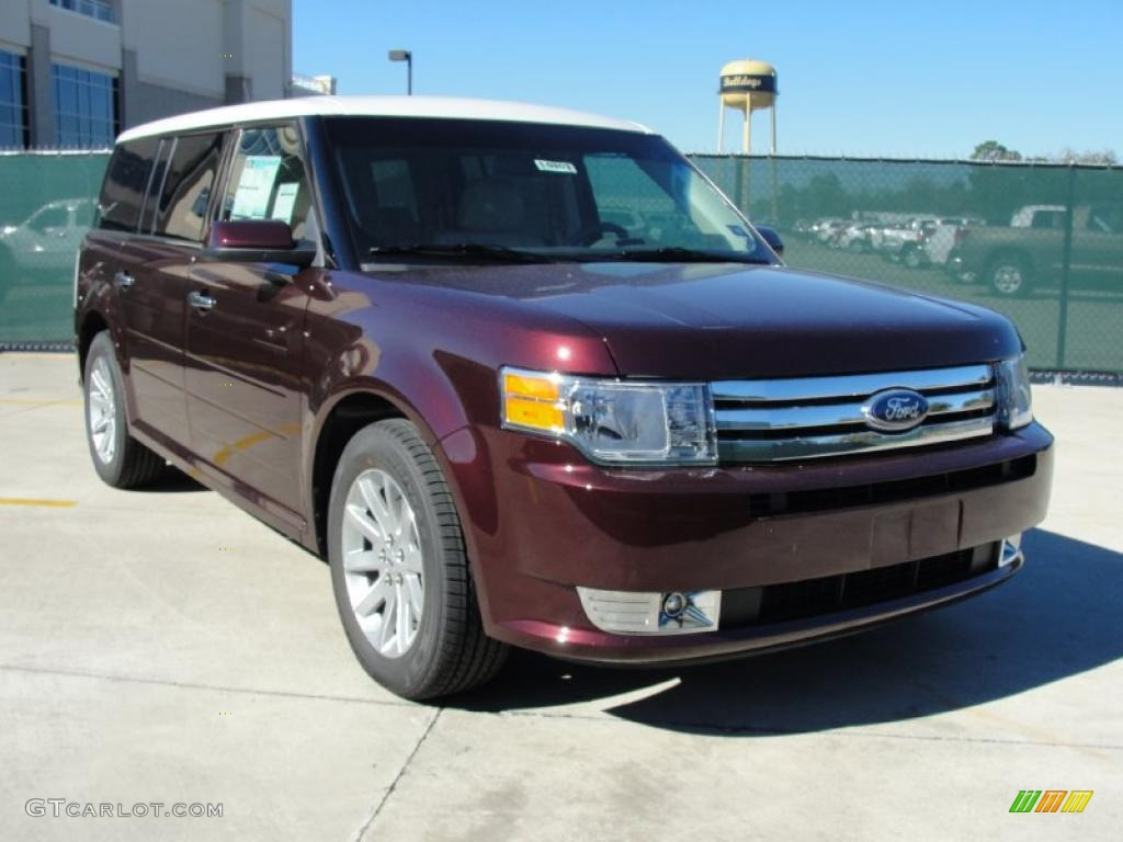 bordeaux reserve red metallic 2011 ford flex sel exterior. Black Bedroom Furniture Sets. Home Design Ideas