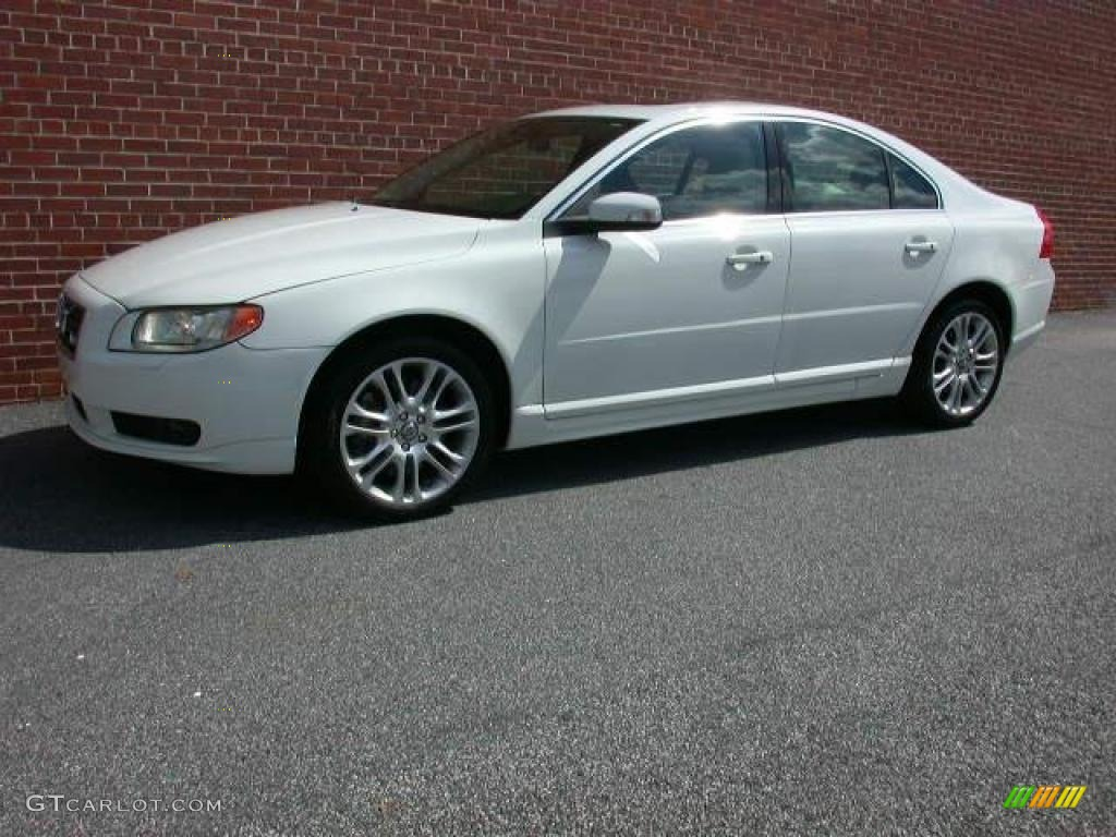 ice white 2007 volvo s80 v8 awd exterior photo 40853905. Black Bedroom Furniture Sets. Home Design Ideas