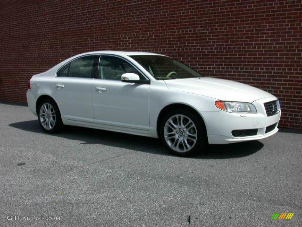 ice white 2007 volvo s80 v8 awd exterior photo 40853913. Black Bedroom Furniture Sets. Home Design Ideas