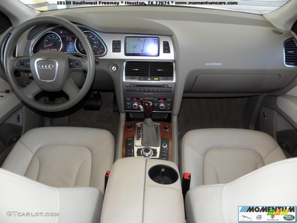cardamom beige interior 2008 audi q7 4 2 premium quattro photo 40863773. Black Bedroom Furniture Sets. Home Design Ideas