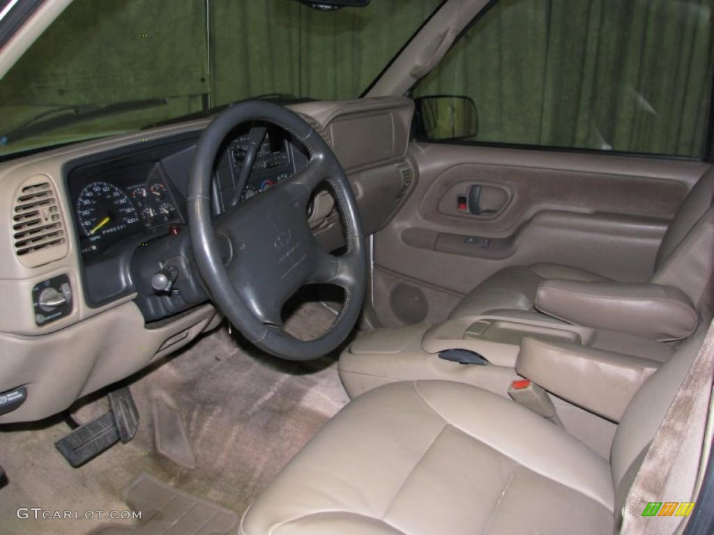 tan interior 1997 chevrolet tahoe lt 4x4 photo 40866445