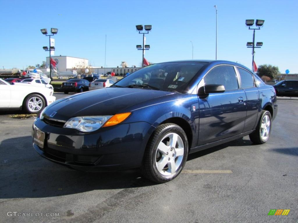 deep blue 2007 saturn ion 2 quad coupe exterior photo. Black Bedroom Furniture Sets. Home Design Ideas