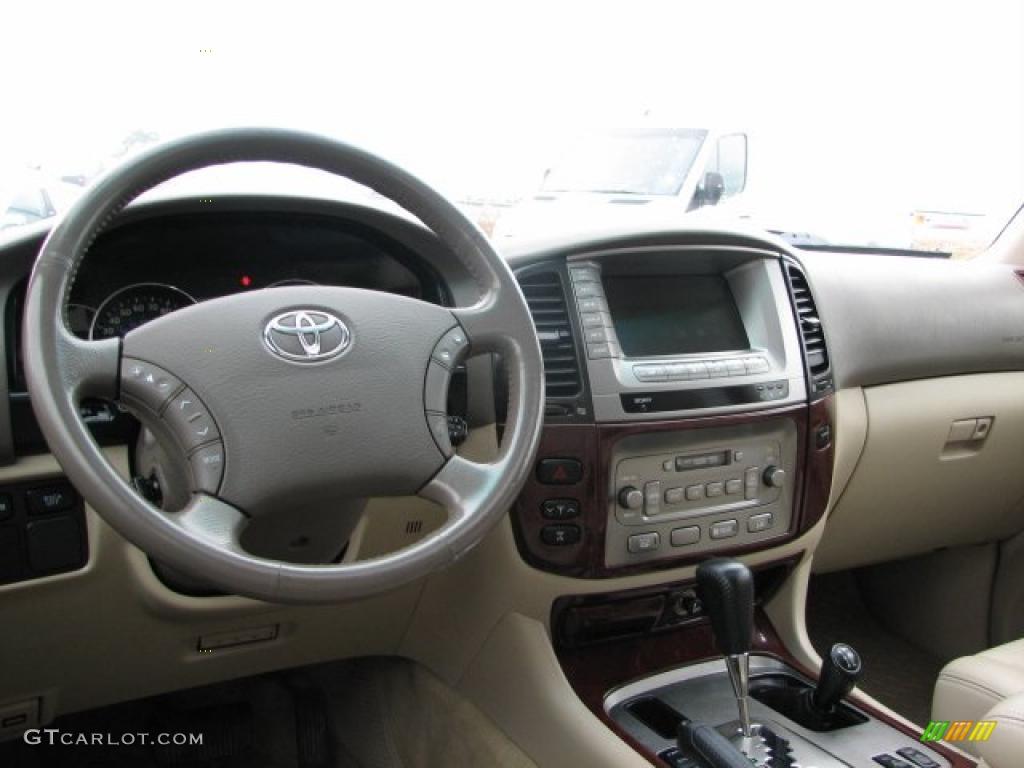 Ivory Interior 2005 Toyota Land Cruiser Standard Land Cruiser Model Photo 40868916