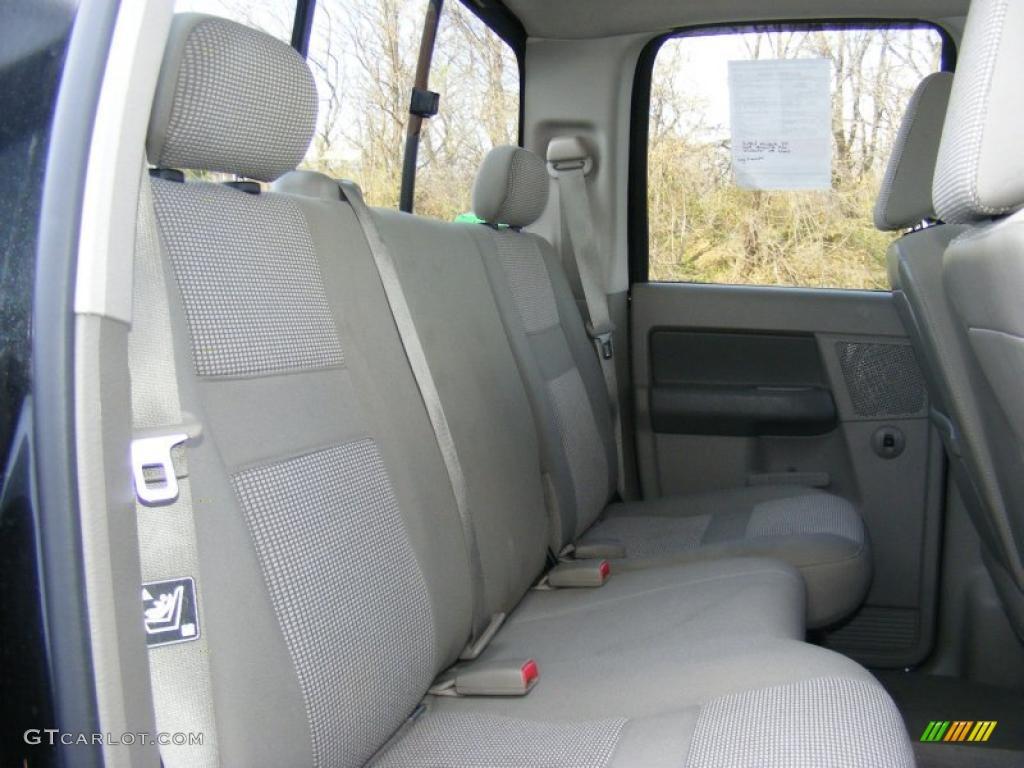 Khaki Beige Interior 2006 Dodge Ram 1500 Slt Quad Cab 4x4 Photo 40872598