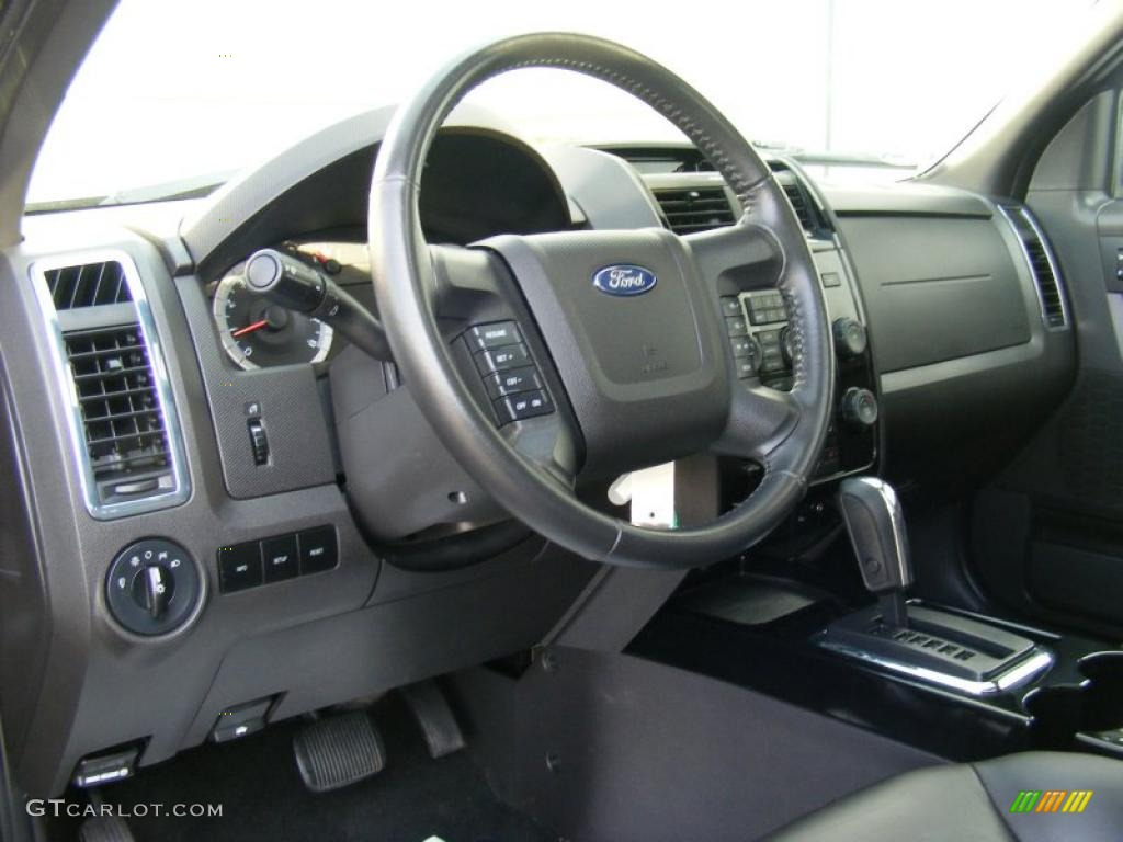 Charcoal Interior 2008 Ford Escape Limited 4wd Photo