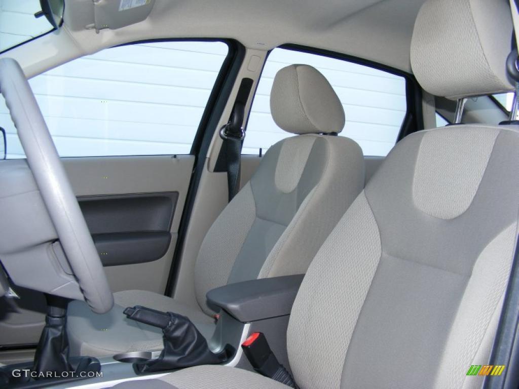 Medium Stone Interior 2008 Ford Focus S Sedan Photo 40877766