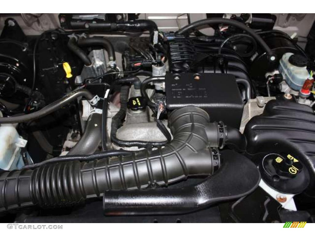 2003 Ford Ranger XL Regular Cab 23 Liter DOHC 16 Valve