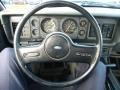 1986 Ford Mustang Grey Interior Steering Wheel Photo