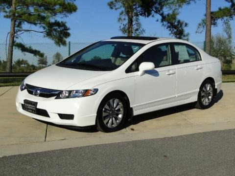 2009 Honda Civic EX L Sedan Data, Info And Specs
