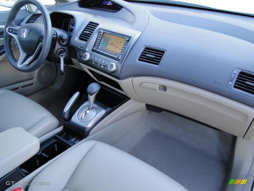 Beige Interior 2009 Honda Civic Ex L Sedan Photo 40899609