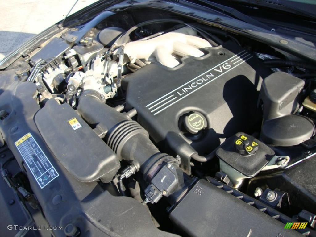 2002 Lincoln LS V6 3.0 Liter DOHC 24-Valve V6 Engine Photo #40901513