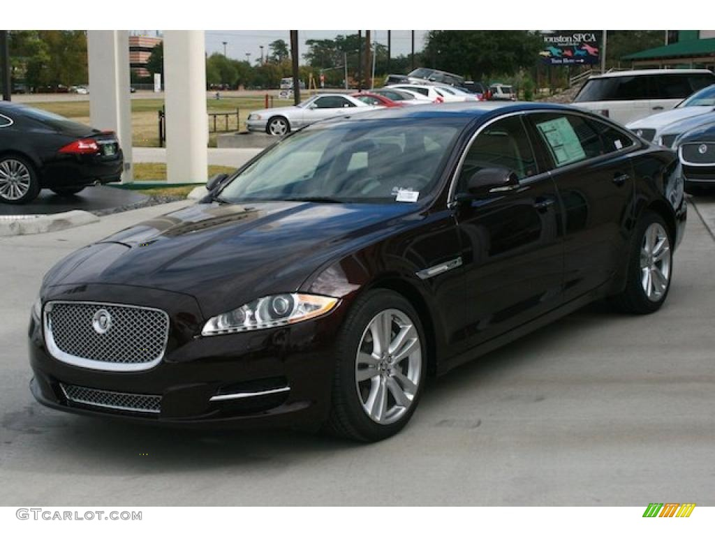 Caviar metallic 2011 jaguar xj xjl exterior photo for Jaguar xj exterior