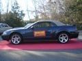 2003 True Blue Metallic Ford Mustang GT Convertible  photo #9