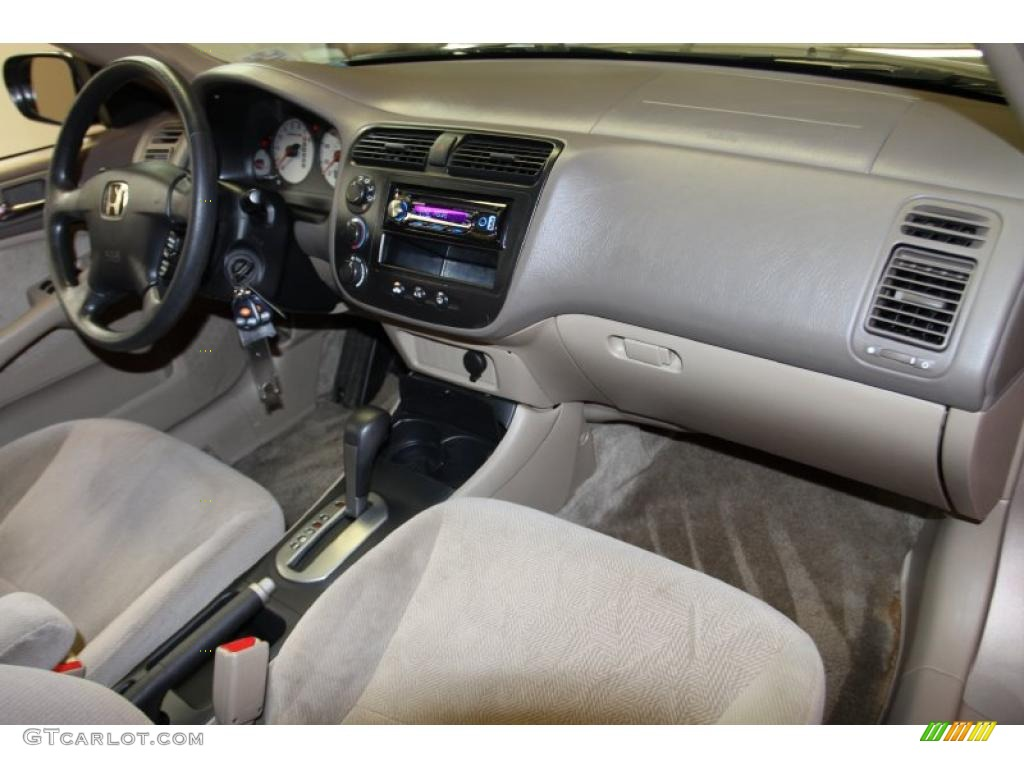 Beige Interior 2002 Honda Civic Lx Sedan Photo 40912009 Gtcarlot 2017 2018 Best Cars Reviews