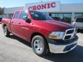 2011 Deep Cherry Red Crystal Pearl Dodge Ram 1500 ST Quad Cab  photo #1