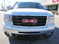 White Diamond Tricoat - Sierra 1500 SLT Crew Cab 4x4 Photo No. 2