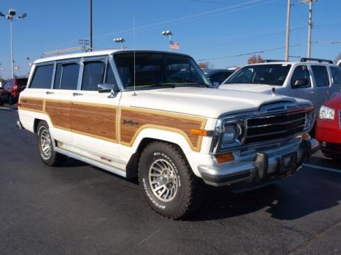 1991 jeep grand wagoneer data info and specs. Black Bedroom Furniture Sets. Home Design Ideas