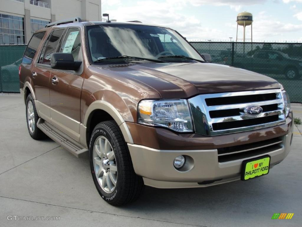 golden bronze metallic 2011 ford expedition xlt exterior photo 40921825. Black Bedroom Furniture Sets. Home Design Ideas