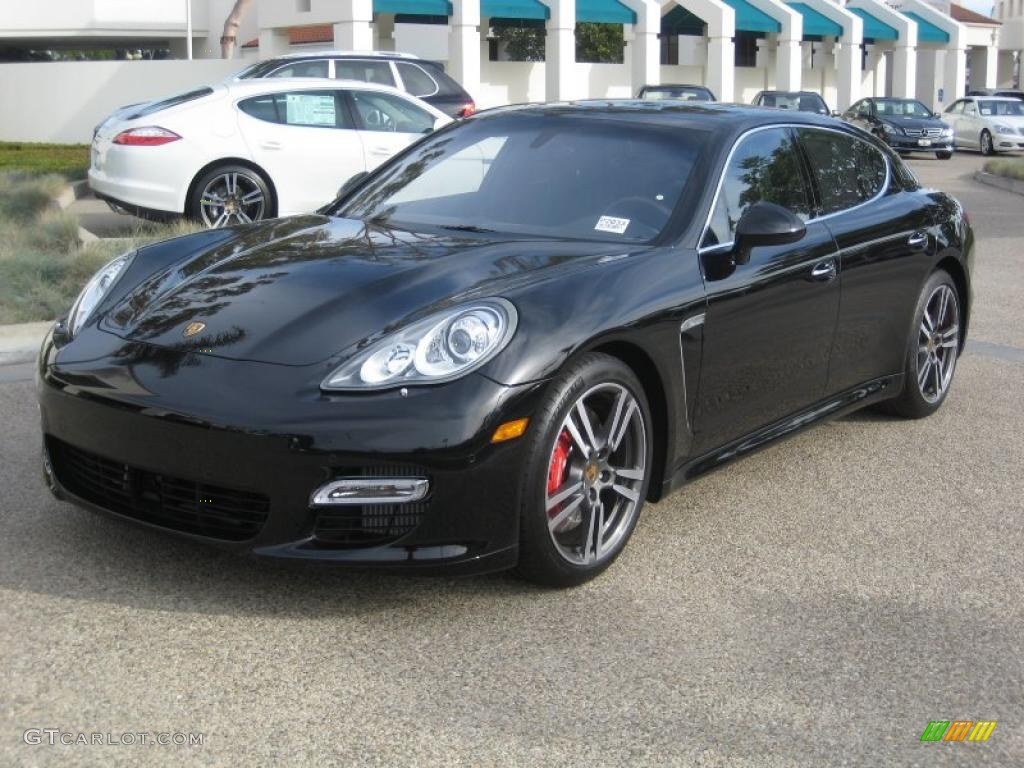 2011 Black Porsche Panamera Turbo 40879101