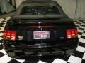 2001 Black Ford Mustang Cobra Convertible  photo #3