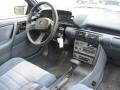 1991 Chevrolet Cavalier Blue Interior Dashboard Photo