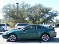 2002 Tropic Green Metallic Ford Mustang GT Coupe  photo #2