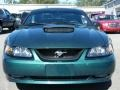 2002 Tropic Green Metallic Ford Mustang GT Coupe  photo #8