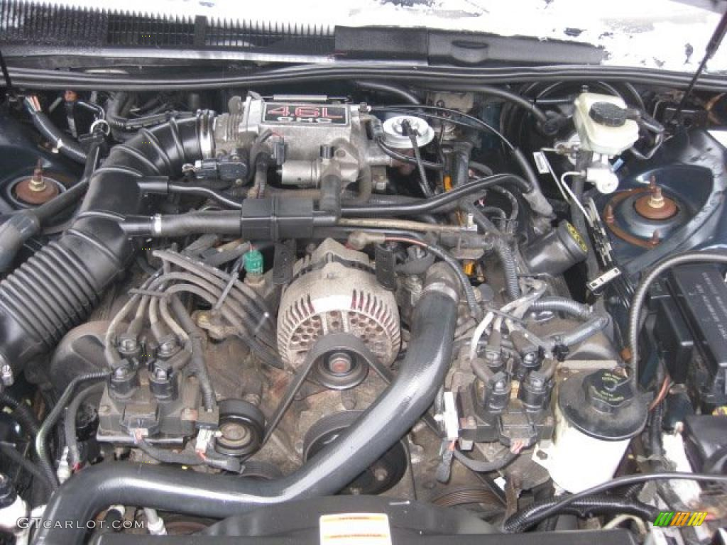 1997 Ford Thunderbird Lx Coupe 4 6l Sohc V8 Engine Photo