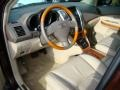 Parchment Interior Photo for 2009 Lexus RX #40963236