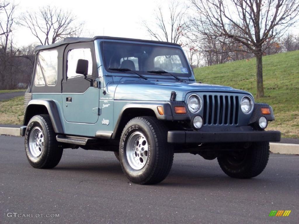 1997 gunmetal pearl jeep wrangler sport 4x4 40962050 photo 27