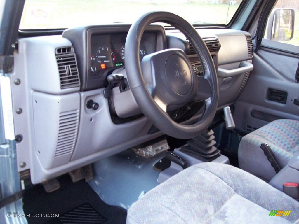 gray interior 1997 jeep wrangler sport 4x4 photo 40966896