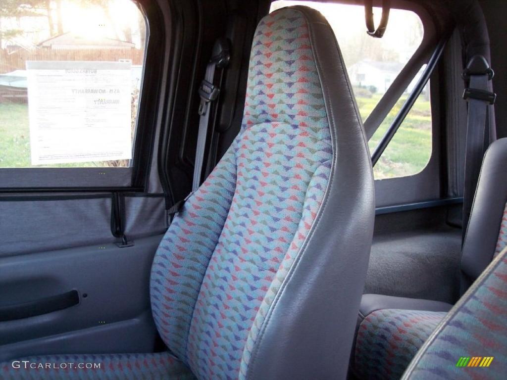 Gray Interior 1997 Jeep Wrangler Sport 4x4 Photo 40966960