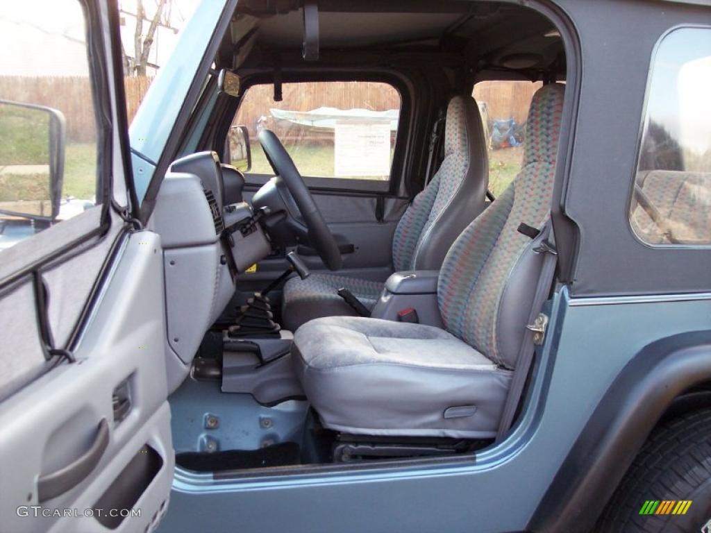 1997 Jeep Wrangler Sport 4x4 Interior Photo 40967000