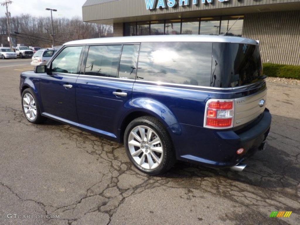 2011 kona blue metallic ford flex limited awd ecoboost 40962075 photo 2 car. Black Bedroom Furniture Sets. Home Design Ideas