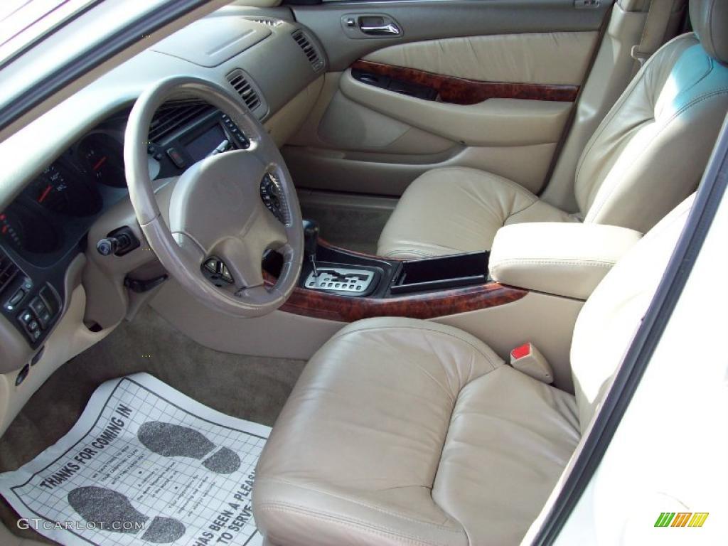 Parchment Interior 2000 Acura TL 3.2 Photo #40973108 ...