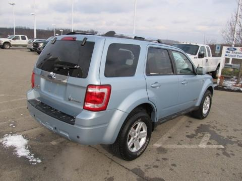 Light Ice Blue Ford Escape in 2008. Light Ice Blue