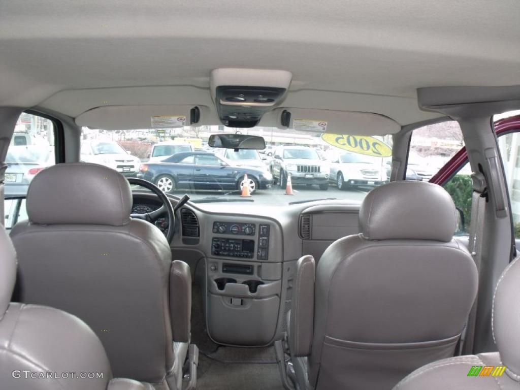 2005 chevrolet astro lt awd passenger van interior photo 40977936