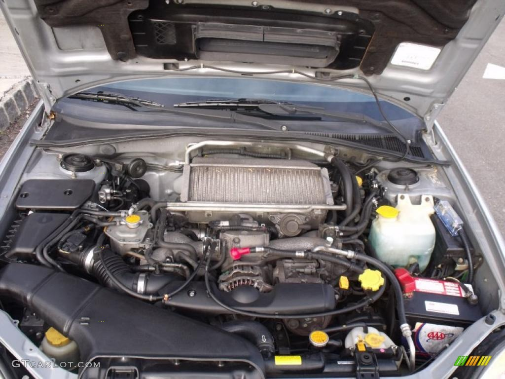 2002 Subaru Impreza Wrx Wagon 2 0 Liter Turbocharged Dohc 16 Valve Flat 4 Cylinder Engine
