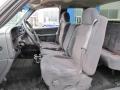 Graphite Interior Photo for 2001 Chevrolet Silverado 1500 #40980213