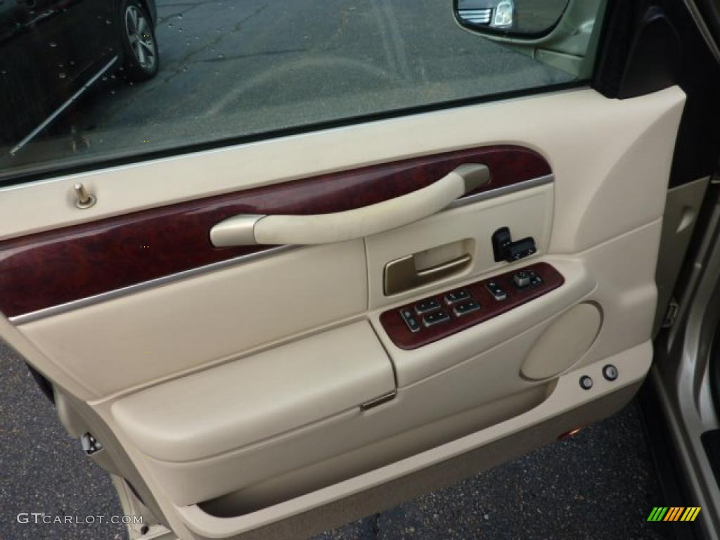 2004 lincoln town car signature light parchment door panel - Lincoln town car interior door parts ...