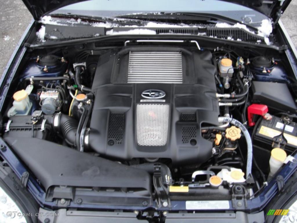2006 Subaru Legacy 2 5 Gt Limited Sedan 2 5 Liter